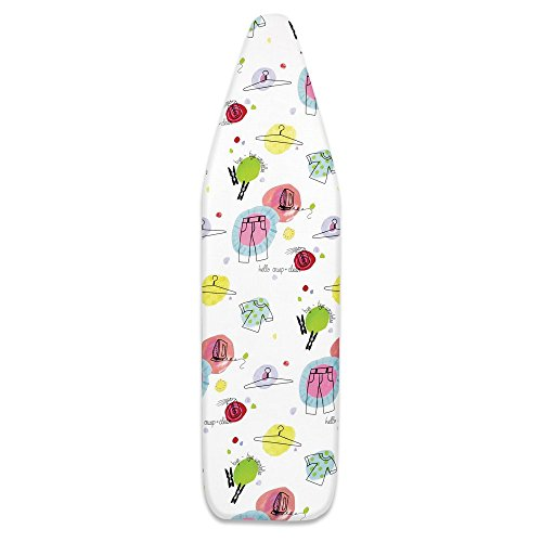 Whitmor-6467-100-Scorch-Resistant-Ironing-Board-Cover-and-Pad-Happy-Thoughts-0