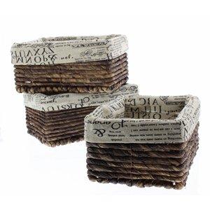 Wicker-Home-Decorative-Storage-Organizer-Baskets-5-Piece-Set-3-small-at-1025x6x5-Medium-155x12x65-Large-17x1325x7-Inches-0-1