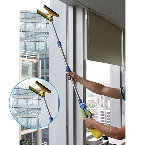 Window-Squeegee-Shower-Squeegee-Cleaner-Mop-with-Long-Extendable-Pole-and-Water-Sprayer-for-Window-Shower-Washroom-Cars-and-More-0-0