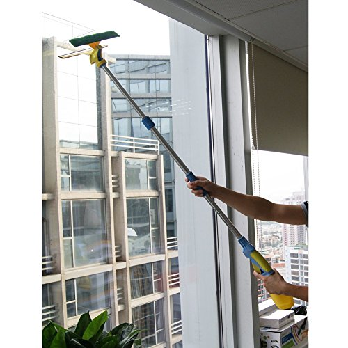 Window-Squeegee-Shower-Squeegee-Cleaner-Mop-with-Long-Extendable-Pole-and-Water-Sprayer-for-Window-Shower-Washroom-Cars-and-More-0-1