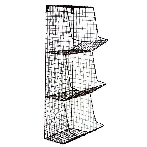 Wire-Wall-3-Storage-Bin-FruitVegetable-Basket-Primitive-Rustic-Farmhouse-Decor-0