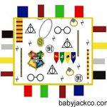 Wizard-Baby-Tag-Blanket-for-Harry-Potter-Baby-Nursery-Teach-baby-about-Wizarding-World-with-this-14×18-Educational-Magical-Security-Blanket-0-0