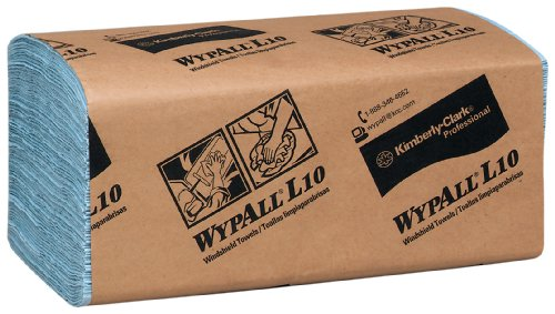 Wypall-L10-Disposable-Windshield-Wipers-Blue-10-Pack-0-0