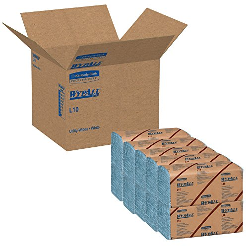 Wypall-L10-Disposable-Windshield-Wipers-Blue-10-Pack-0-1