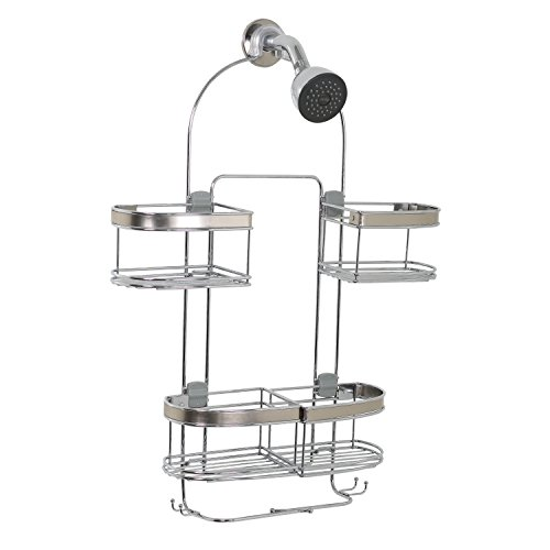 ZPC-Zenith-Products-Premium-Expandable-Shower-Caddy-for-Hand-Held-Shower-or-Tall-Bottles-0-0