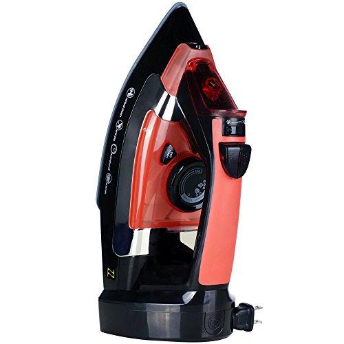 ZZ-ES2346RRB-Advantage-1400-Watt-Steam-Iron-with-Non-stick-Ceramic-Soleplate-Red-0