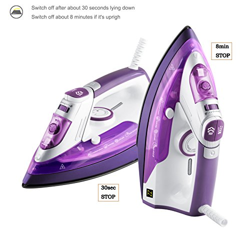 ZZ-ES391-P-1500-Watt-Steam-Iron-with-Stainless-Steel-Soleplate-and-Detachable-Water-Tank-Purple-0-1