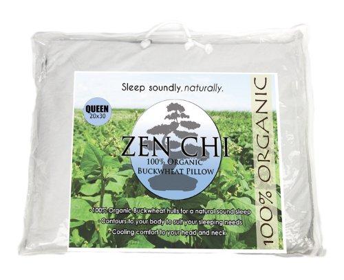 Zen-Chi-Organic-Queen-Buckwheat-Pillow-with-Cotton-Cover-0