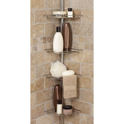 Zenith-Products-Four-Shelf-Tub-and-Shower-Tension-Pole-Caddy-0