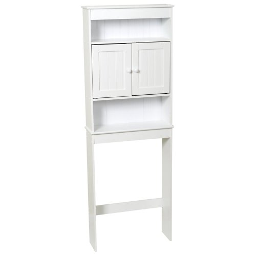 Zenna-Home-9119W-Cottage-Collection-Bathroom-Spacesaver-White-0