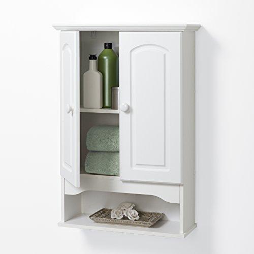 Zenna-Home-E9615W-Hartford-Wall-Cabinet-White-0-1