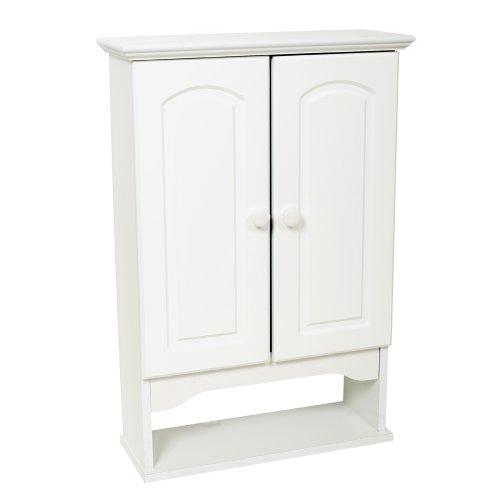 Zenna-Home-E9615W-Hartford-Wall-Cabinet-White-0