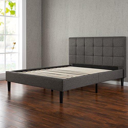 Zinus-Upholstered-Square-Stitched-Platform-Bed-0-0