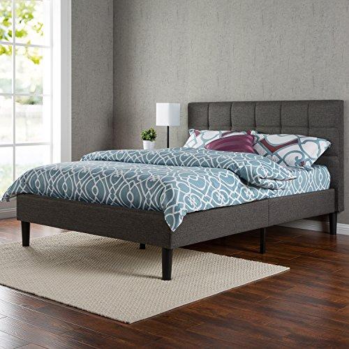 Zinus-Upholstered-Square-Stitched-Platform-Bed-0-1