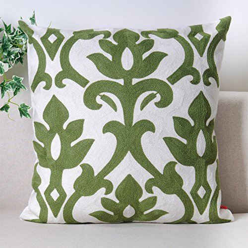 baibu-100-Cotton-Decor-Throw-Pillow-Case-Embroidery-Turquoise-Teal-Accent-Pattern-Cushion-Cover-0-0