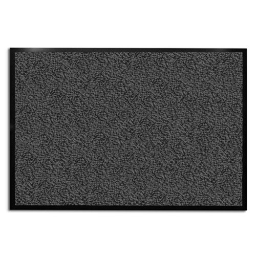 casa-pura-Dirt-Trapper-Entrance-Mat-AnthraciteMottled-Multiple-Sizes-Non-slip-Backing-IndoorOutdoor-0