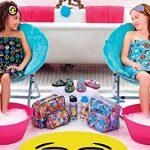 iscream-Big-Girls-Cotton-Velour-Spa-Wrap-Funny-Emojis-0-0