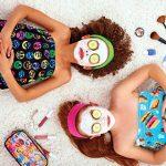 iscream-Big-Girls-Cotton-Velour-Spa-Wrap-Funny-Emojis-0-1