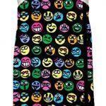 iscream-Big-Girls-Cotton-Velour-Spa-Wrap-Funny-Emojis-0