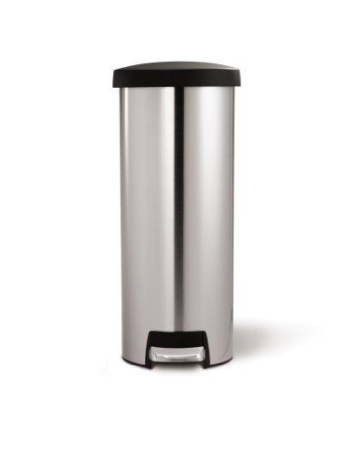 simplehuman-45-litre-slim-step-can-plastic-lid-stainless-steel-0-0