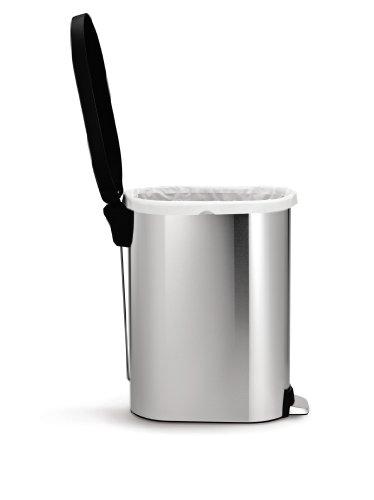 simplehuman-45-litre-slim-step-can-plastic-lid-stainless-steel-0-1