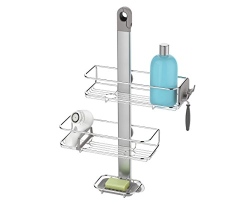 simplehuman-Adjustable-Shower-Caddy-Stainless-Steel-and-Anodized-Aluminum-0