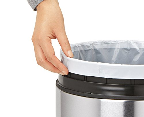 simplehuman-Code-B-Custom-Fit-Trash-Can-Liner-12-refill-packs-360-Count-6-Liter-16-Gallon-0-0