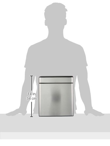 simplehuman-Profile-Open-Trash-Can-Stainless-Steel-10-L-26-Gal-0-1