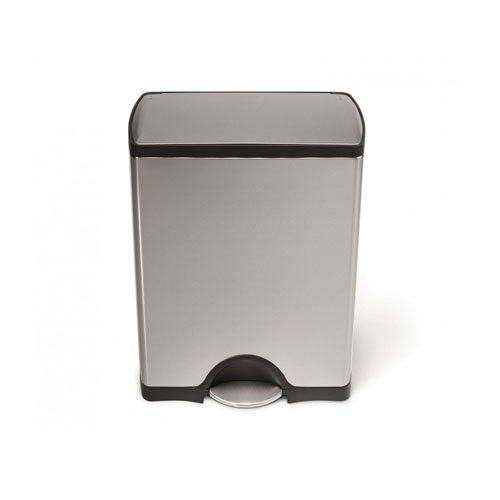 simplehuman-Rectangular-Step-Trash-Can-Stainless-Steel-50-L-132-Gal-0