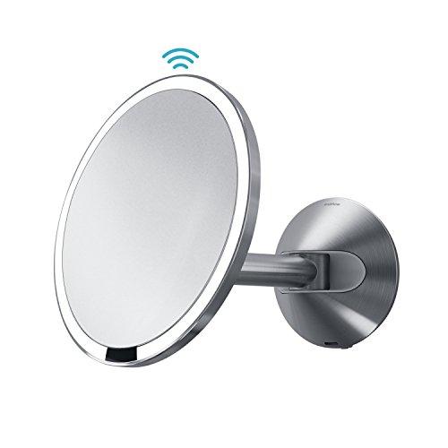 simplehuman-Sensor-Mirror-Sensor-Activated-Lighted-Makeup-Mirror-0