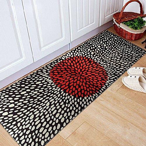 yazi-Non-Slip-Doormat-Kitchen-Rugs-BlackWhite-Style-Mat-157x236inch-157x453inch-0-0