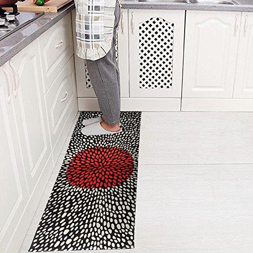 yazi-Non-Slip-Doormat-Kitchen-Rugs-BlackWhite-Style-Mat-157x236inch-157x453inch-0-1