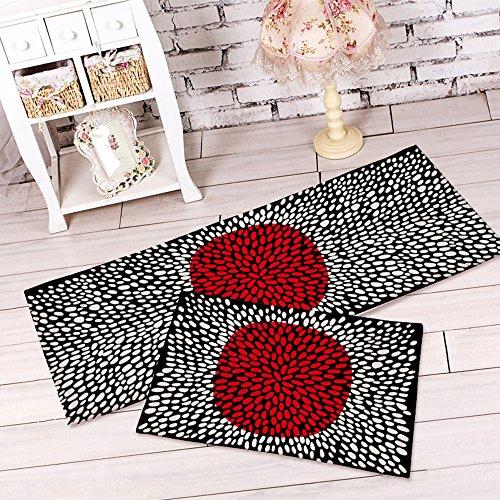 yazi-Non-Slip-Doormat-Kitchen-Rugs-BlackWhite-Style-Mat-157x236inch-157x453inch-0