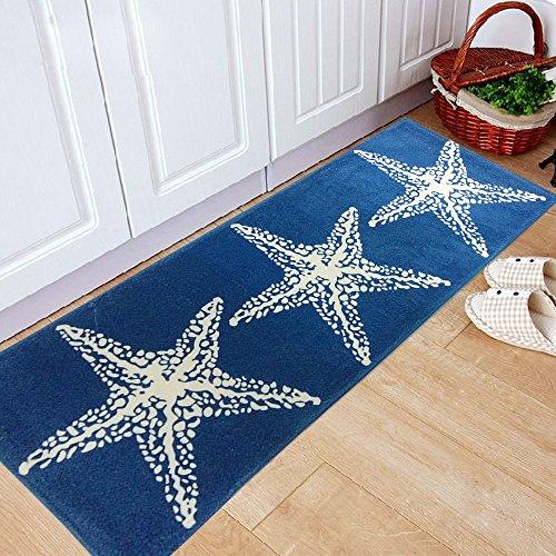 yazi-Non-Slip-Doormat-Kitchen-Rugs-Mediterranean-style-With-White-Starfish-157x236inch-157x453inch-Thanksgiving-Gift-0-0